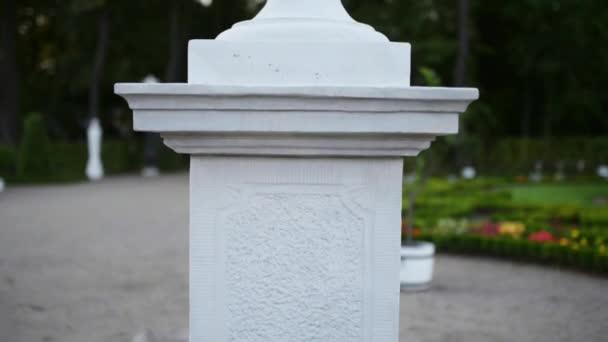 szobor közelében Bialystok Branicki Palace