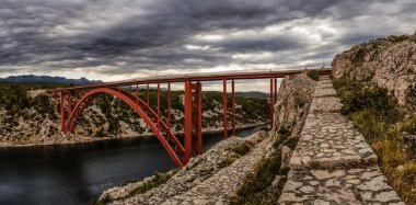 The Maslenica Bridge of Croatia