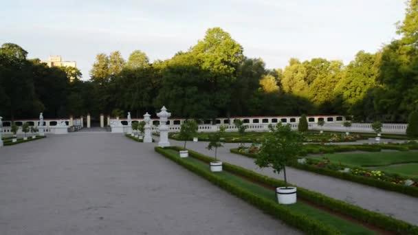 Kašna a zahrady poblíž paláce Branických v Bialystoku