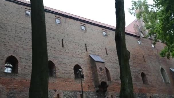 Teutonic castle in Nidzica, Poland