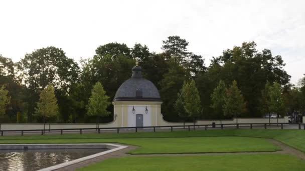 Fountain near Branicki Palace in Bialystok