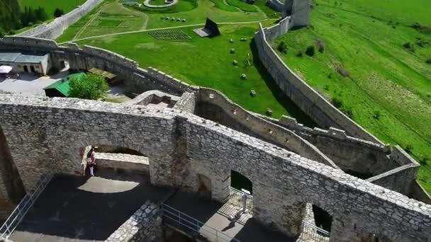 Spišský hrad na východním Slovensku