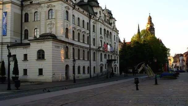 Košice na východním Slovensku