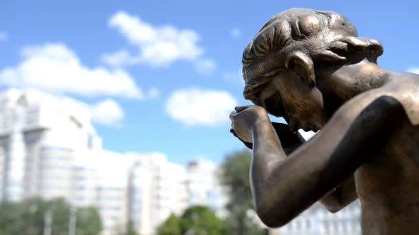 emlékmű Weeping angyal-Minszk, Fehéroroszország