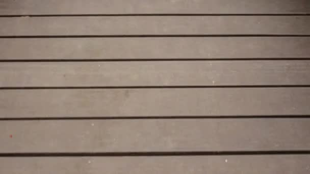 movement of wooden track