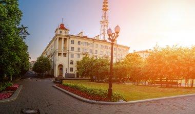 Telecommunications tower in Minsk, Belarus