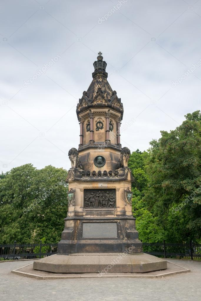 Фотообои War monument in Bastion Cleve in Magdeburg, Germany