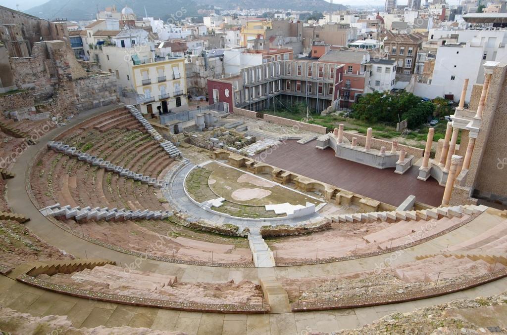 カルタヘナのローマの円形劇場 —...