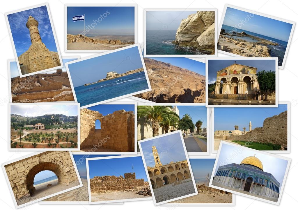 Landmarks Of Ancient Israel Stock Photo Gumbao 118403508
