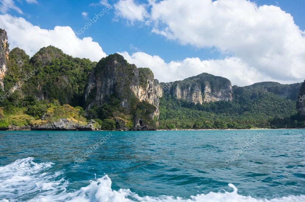 The coast of Andaman sea