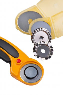 Set Rotary Cutter close up