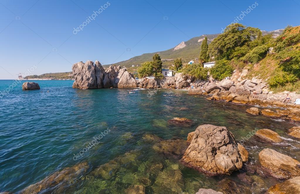 Bays and beaches Chekhov