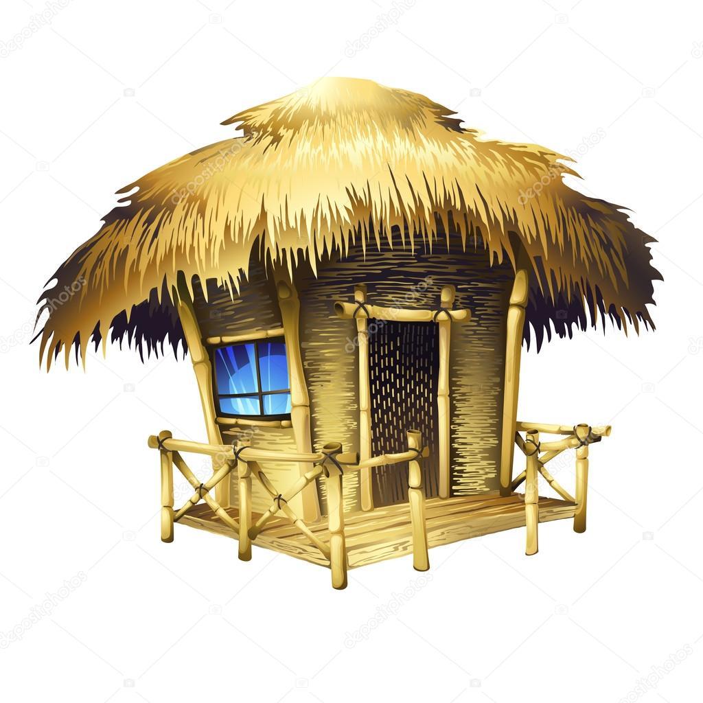 Bungalow tropicali vettoriali stock tan tan 62354241 for Fantastici disegni di bungalow