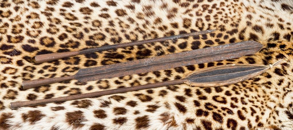 Maasai spear heads   Maasai Spear Heads  — Stock Photo