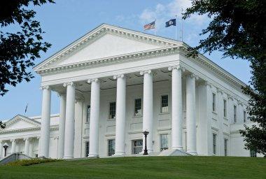 Virginia State Capital Building.