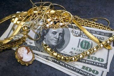 Scrap Gold Jewellry.