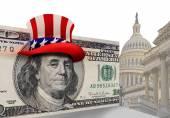 Washington síleny peníze.