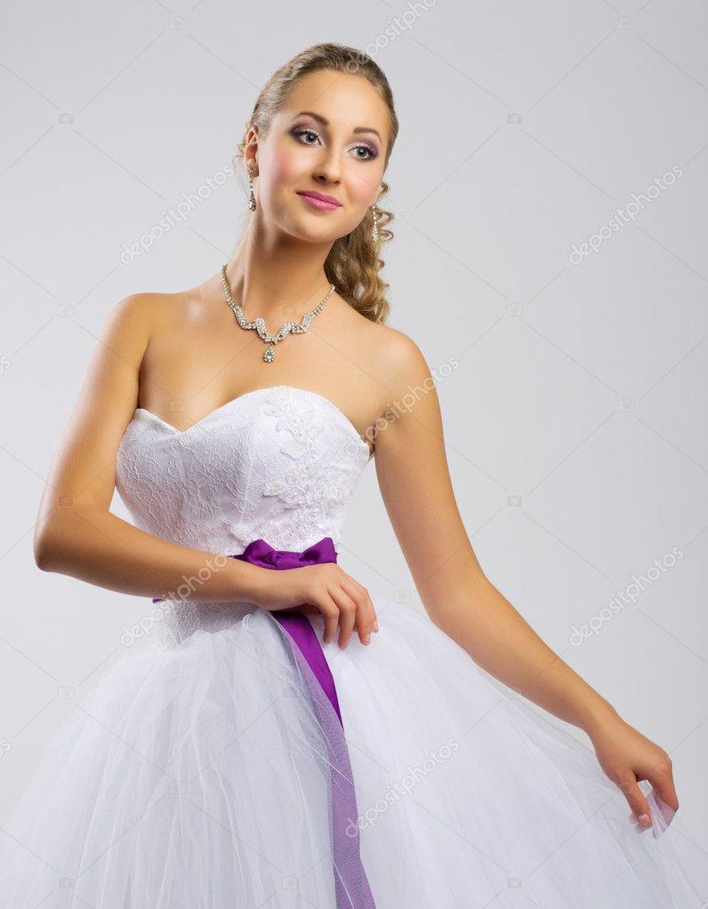 d05e5f6cc8 nő a menyasszonyi ruha — Stock Fotó © rbvrbv #86961736
