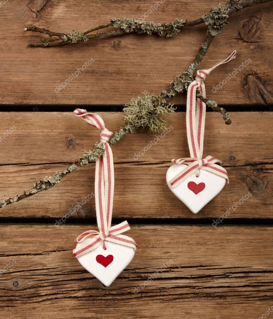 Weihnachtsdekoration Aus Holz Hintergrund U2014 Stockfoto