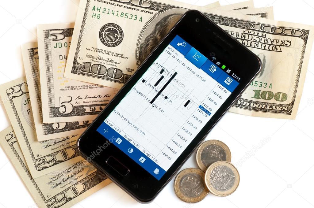 Форекс на мобильном телефоне рынок форекс точки входа