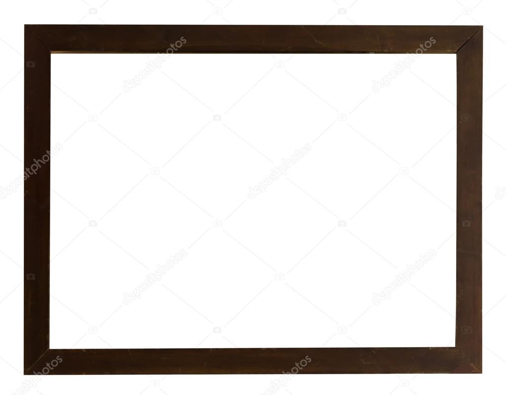 marco de madera oscura — Fotos de Stock © dovapi #108370376
