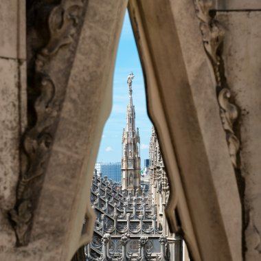 roof of Milan Cathedral Duomo