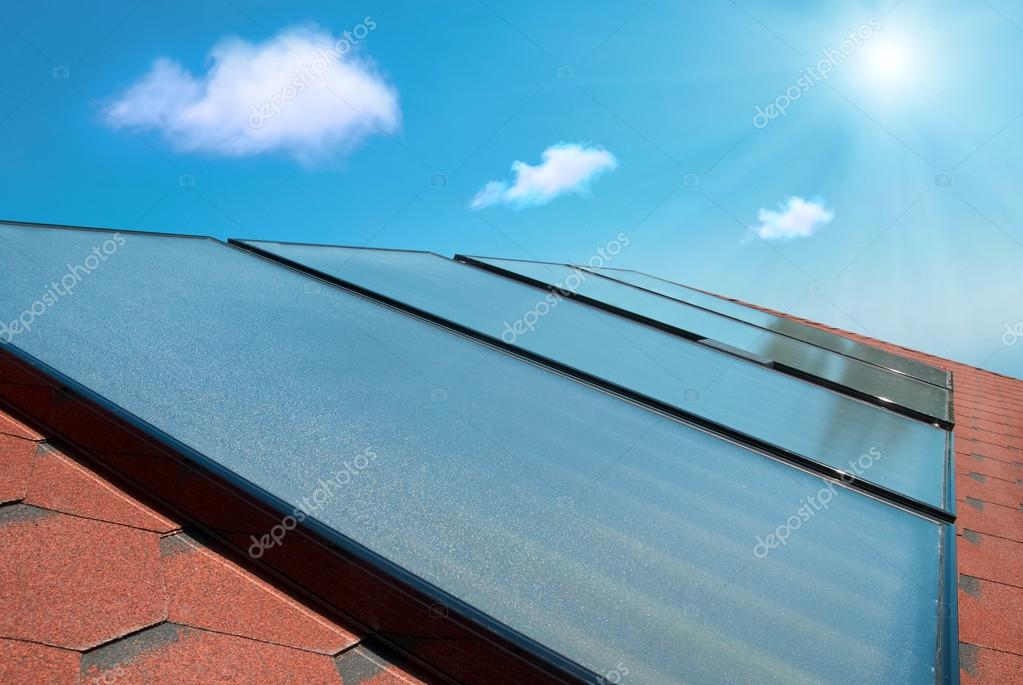 chauffe eau solaire nuage