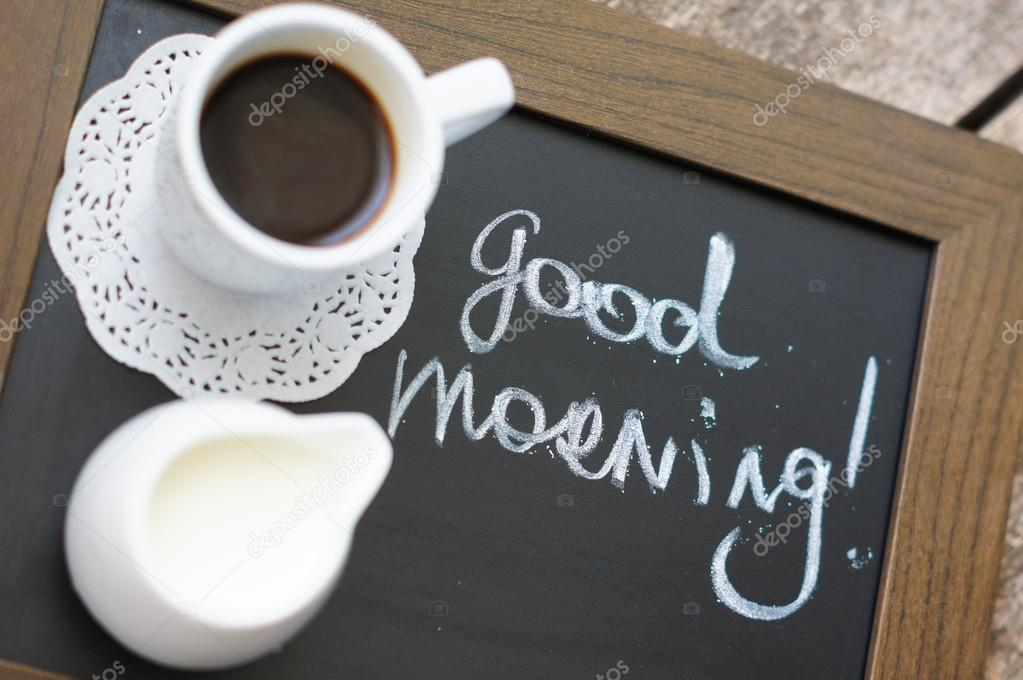 фото чашка кофе доброе утро