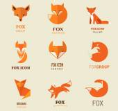 Photo Fox icons, illustrations and elements