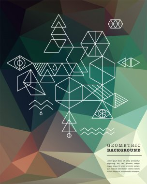 Sacred geometry. Alchemy, spirituality icons