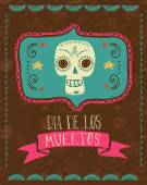 Fotografie drucken - mexikanische Schädel, Tag der Toten