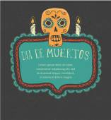Fotografie Print - Mexikanischer Schädel, Tag der Toten