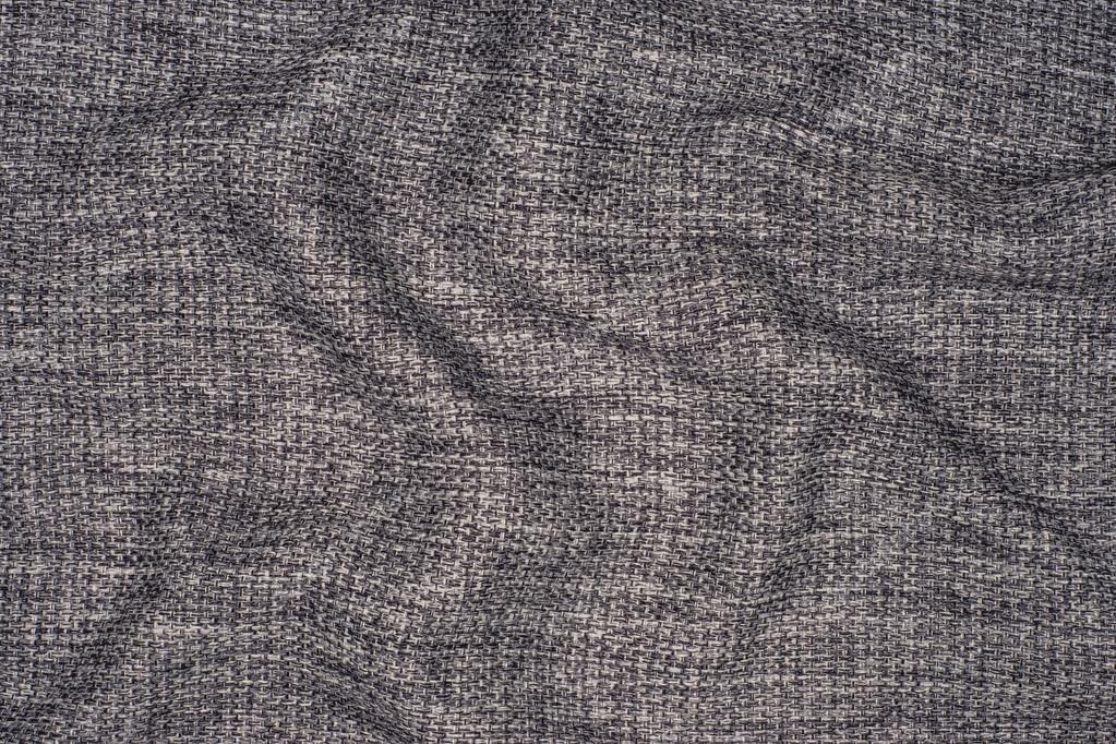 Elegant Gray Cotton Fabric Texture Background Stock Photo