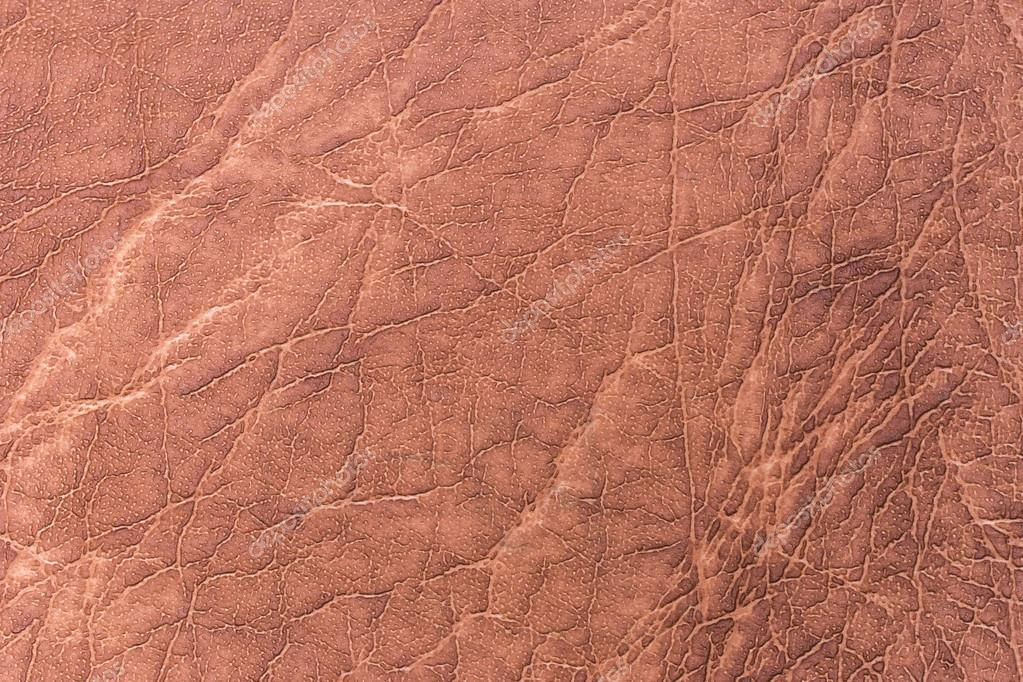 Light Brown Vintage Leather Texture Background Stock Photo
