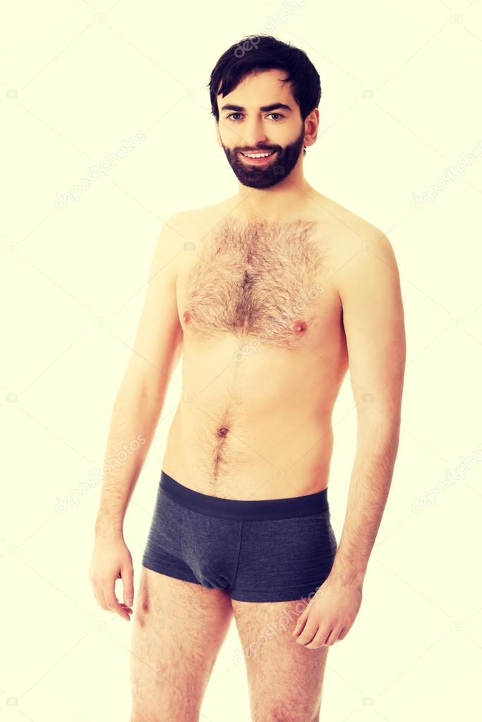 fournir un grand choix de doux et léger grande vente au rabais Torse nu homme souriant. — Photographie piotr_marcinski ...