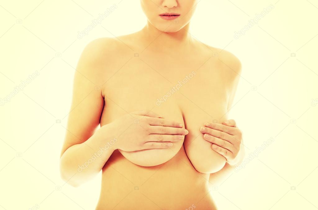 Close up on female boobs in black bra iphone x case for sale by piotr marcinski