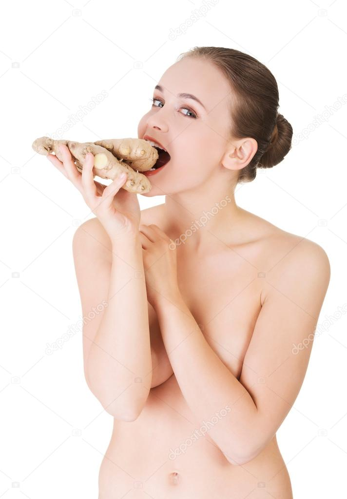 images of nude women swallowing