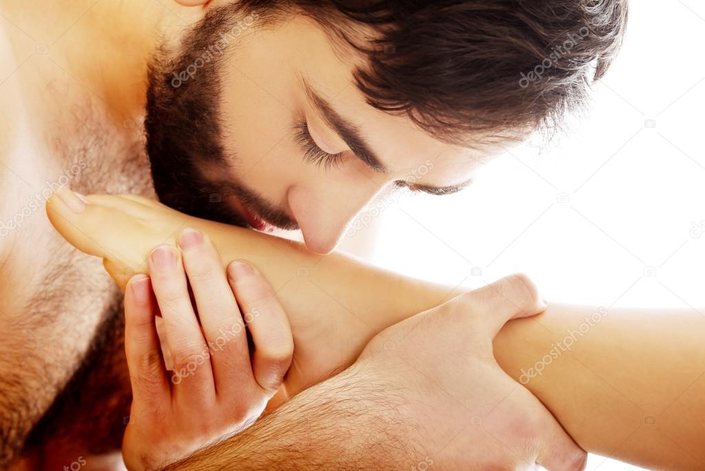 Embrasser des photos de sexe