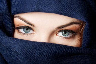 Arabian woman  in hijab