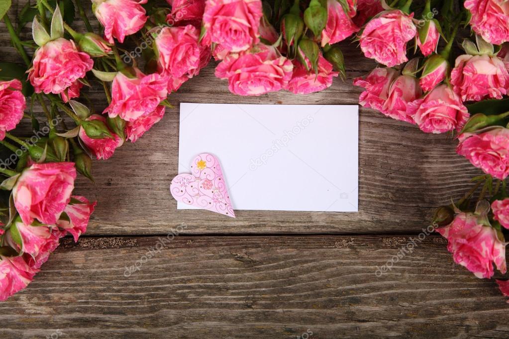 Фото пустой открытки