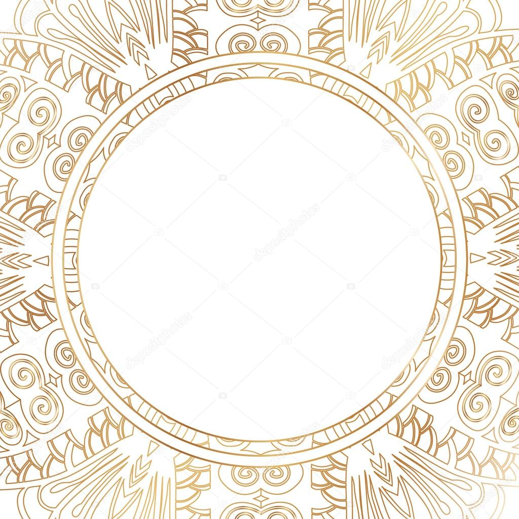 round lace border frame silhouette stock vector mary1507 110661780 rh depositphotos com free lace border vector png gold lace border vector