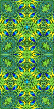 hand painted seamless pattern