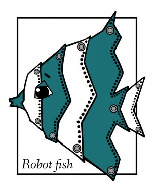 Drawing Robot fish