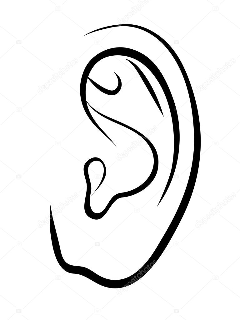 coloring pages of ears - photo#26