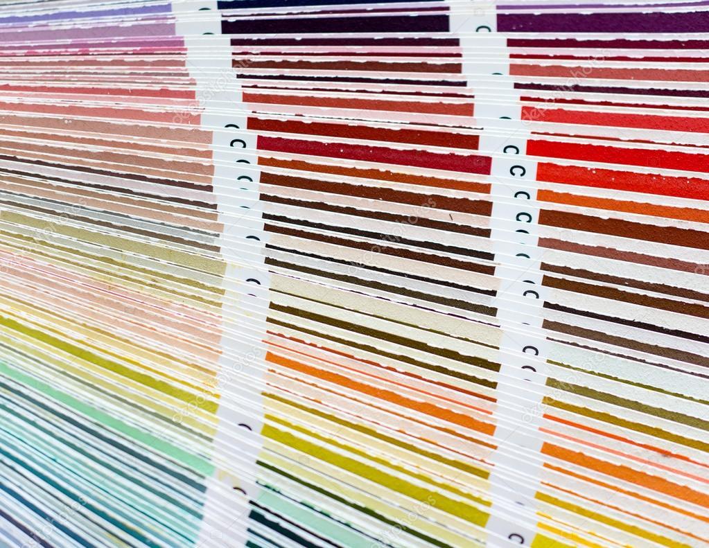 Libro de muestras de color con catálogo de colores de muestra de ...