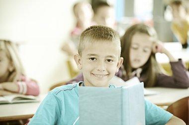 Children having lesson