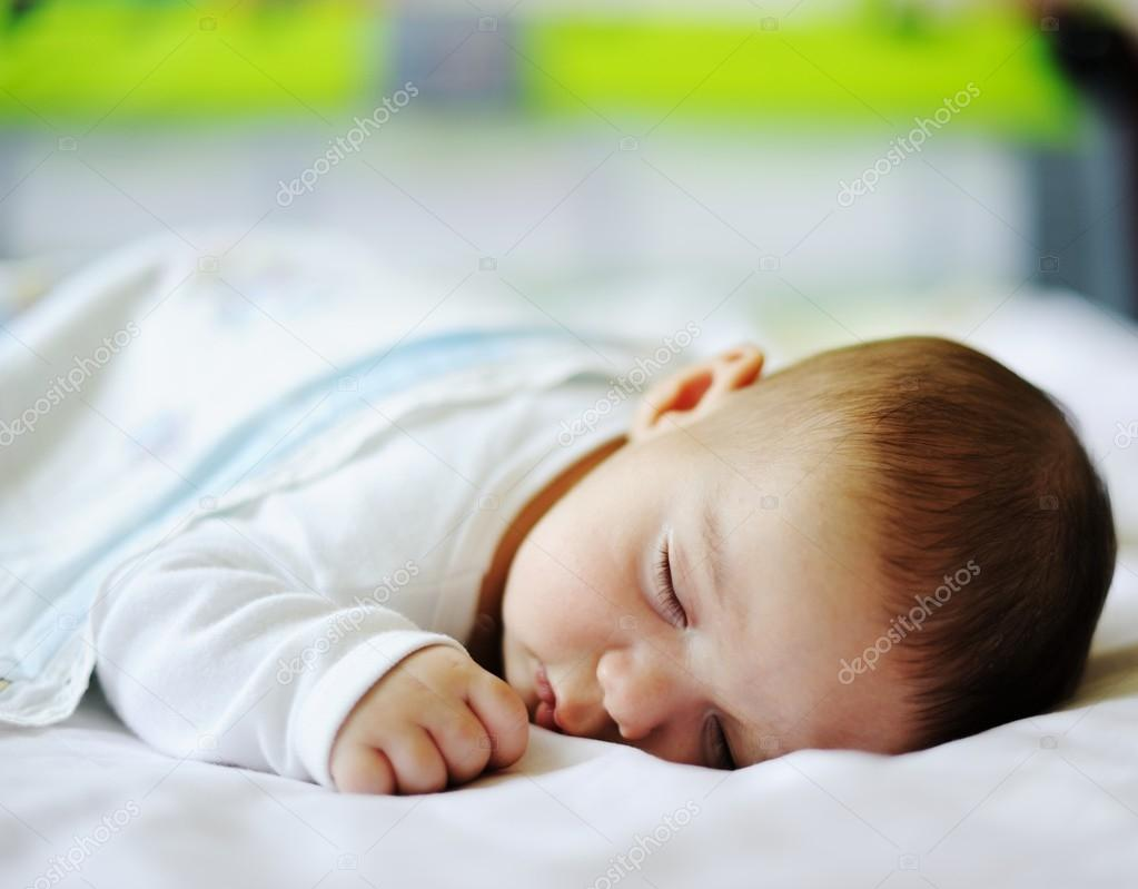Little Cute Couple Months Old Baby Stock Photo Zurijeta 99338902