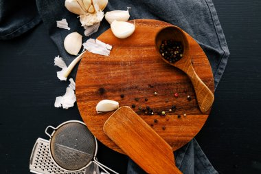 Kitchen utensil on the table