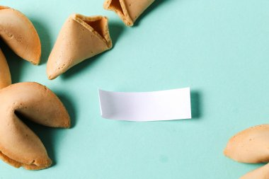 Fortune cookies on the table