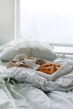 Morning Breakfast in bed